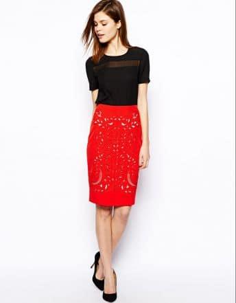 Quelle morphologie pour porter une jupe crayon ?