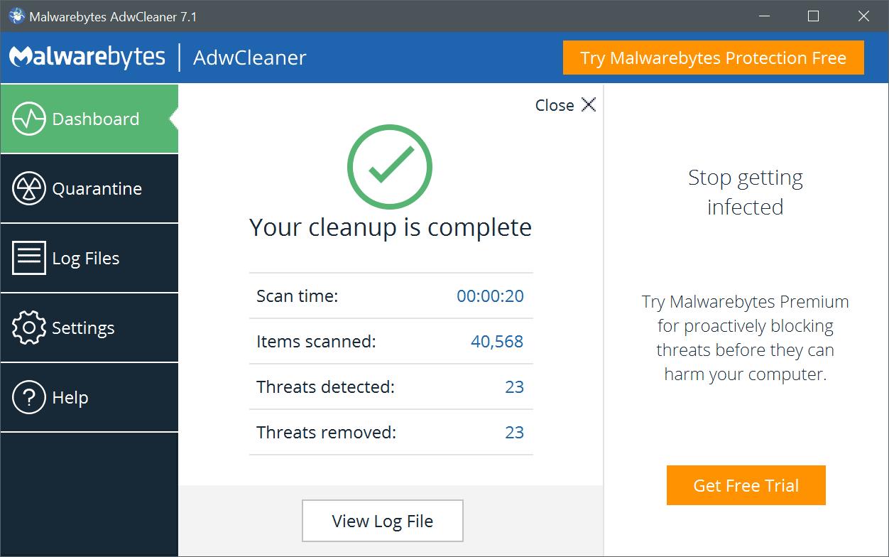 AdwCleaner gratuitement