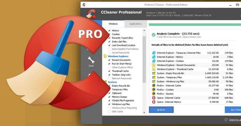 Ccleaner logiciel de nettoyage gratuit