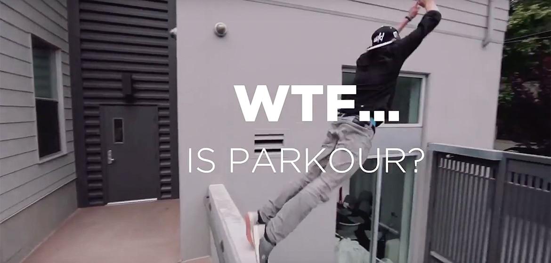 """Qu'est-ce que le """"parkour"""""""
